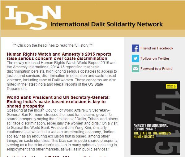 IDSN Newsletter
