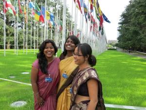 Dalit women at the UN