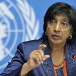 UN High Commissioner Navi Pillay