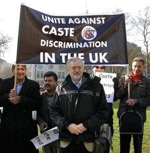 Demonstration in the UK against caste-based discrimination within the Asian diaspora